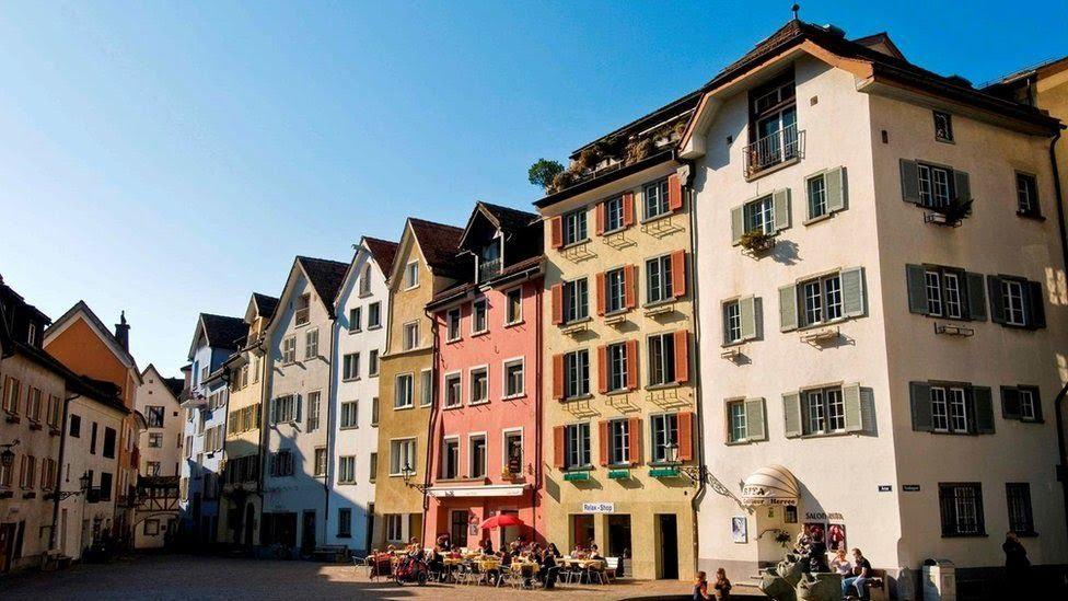 Антивоенная политика Швейцарии помогла сохранить нетронутыми исторические места и древние города